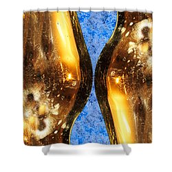 Vertical Independence Shower Curtain