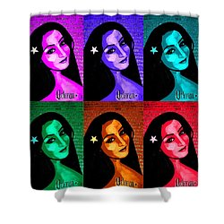 Veterana Colors Shower Curtain