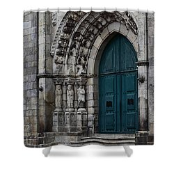 Viana Do Castelo Cathedral Shower Curtain by James Brunker