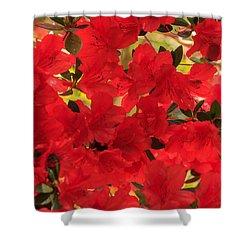 Vibrant Azalea Shower Curtain