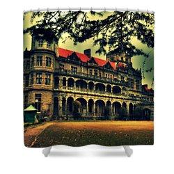 Viceregal Lodge Shimla Shower Curtain by Salman Ravish