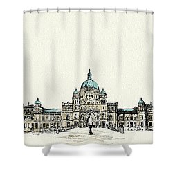 Victoria Art 004 Shower Curtain by Catf