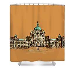 Victoria Art 005 Shower Curtain by Catf