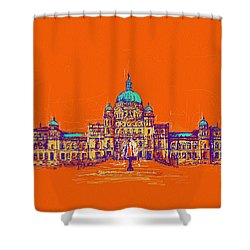 Victoria Art 006 Shower Curtain by Catf