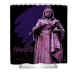 Victoria  Art 008 Shower Curtain by Catf