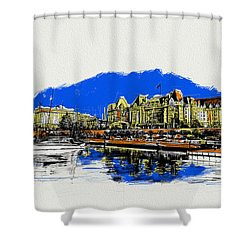 Victoria Art 011 Shower Curtain by Catf