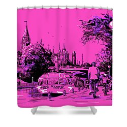 Victoria Art 012 Shower Curtain by Catf