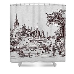 Victoria Art 013 Shower Curtain by Catf