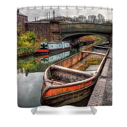 Victorian Canal Shower Curtain by Adrian Evans