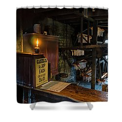 Victorian Candle Factory Shower Curtain by Adrian Evans