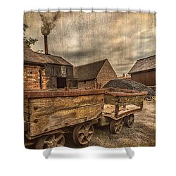 Victorian Colliery Shower Curtain by Adrian Evans
