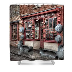 Victorian Hardware Store Shower Curtain by Adrian Evans