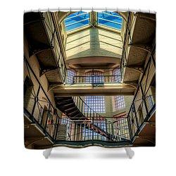 Victorian Jail Shower Curtain by Adrian Evans
