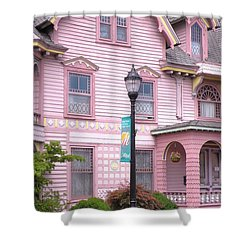 Victorian Pink House - Milford Delaware Shower Curtain