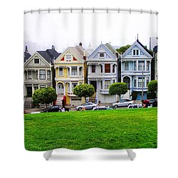 San Francisco Architecture Shower Curtain