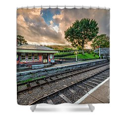 Victorian Station Shower Curtain by Adrian Evans
