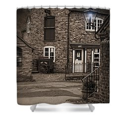 Victorian Stone House Shower Curtain by Amanda Elwell