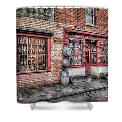 Victorian Stores England Shower Curtain by Adrian Evans