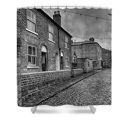 Victorian Street Shower Curtain by Adrian Evans