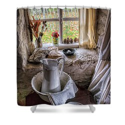 Victorian Wash Area Shower Curtain by Adrian Evans