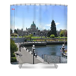 Victoria's Parliament Buildings Shower Curtain