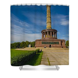 Victory Column Shower Curtain