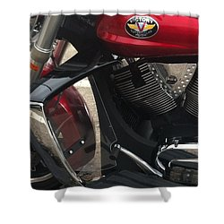 Victory Cycle Shower Curtain