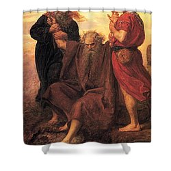 Victory  O Lord Shower Curtain