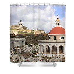 Viejo San Juan Shower Curtain