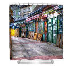 Vienna Naschmarkt Shower Curtain