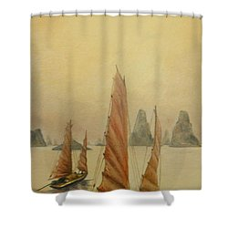 Vietnam Shower Curtain