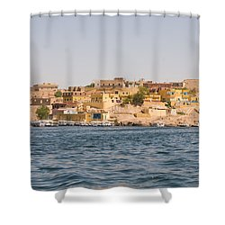 View From Boat Shower Curtain by James Gay