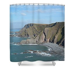 Higher Sharpnose Point Shower Curtain