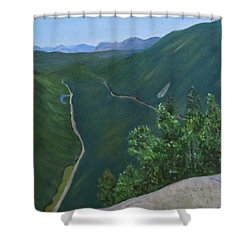 View From Mount Willard Shower Curtain