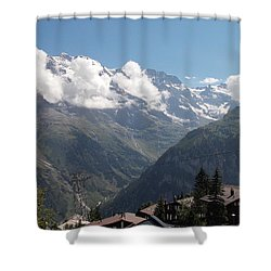 View From Murren Shower Curtain