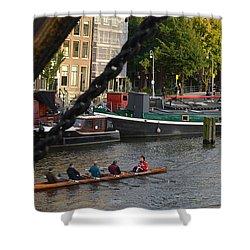 'skinny Bridge' Amsterdam Shower Curtain