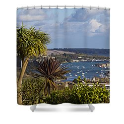 View From The Top Shower Curtain by Brian Roscorla