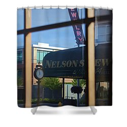 View From The Window Auburn Washington Shower Curtain by Cathy Anderson