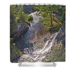 View In Color Shower Curtain