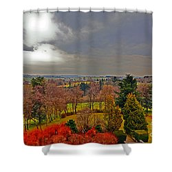 View Of Belgium Shower Curtain