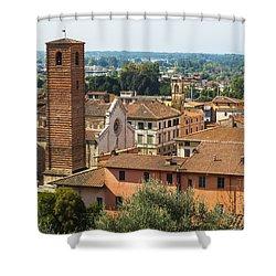 View Of Pietrasanta Shower Curtain