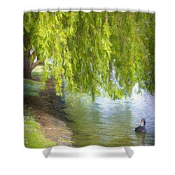 Views From The Lake V - Tranquility Shower Curtain