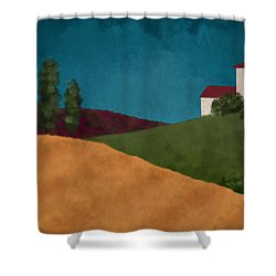Villa I Shower Curtain
