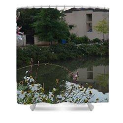 Village Life Shower Curtain