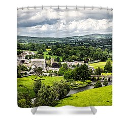 Village Of Inistioge Shower Curtain