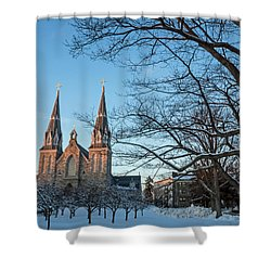 Villanova Winter Saint Thomas Shower Curtain
