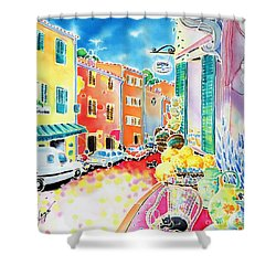 Ville Lumineuse Shower Curtain