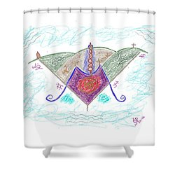 Ville-marie - Montreal Shower Curtain