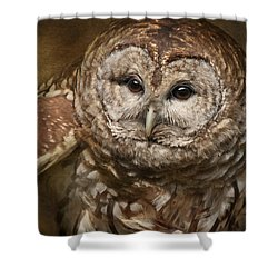 Vilma Up Close Shower Curtain