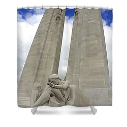 Vimy Ridge Memorial France Shower Curtain